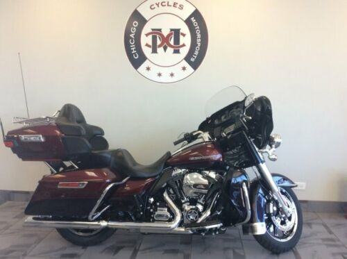 2015 Harley-Davidson FLHTKL ULTRA LOW -- Red for sale
