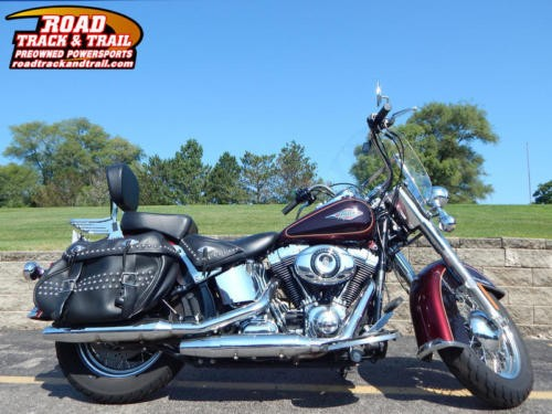 2015 Harley-Davidson FLSTC - Heritage Softail® Classic -- Burgundy for sale