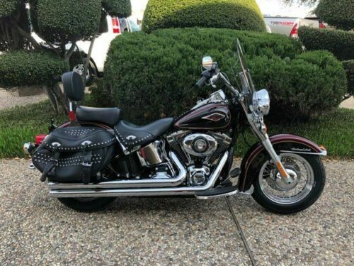 2015 Harley-Davidson FLSTC Heritage Softail Classic -- Red for sale craigslist