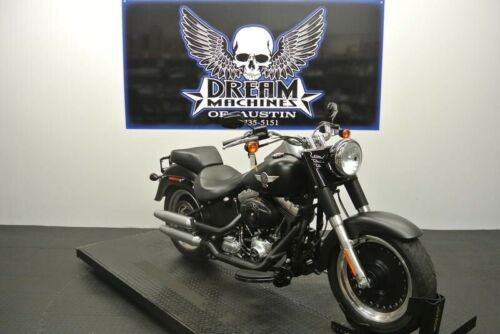 2015 Harley-Davidson FLSTFB - Softail Fat Boy Lo -- Black for sale craigslist