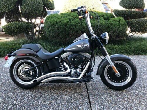 2015 Harley-Davidson Fat Boy Lo MANAGERS SPECIAL !!! -- Gray for sale craigslist