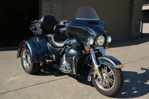 2015 Harley-Davidson TRI GLIDE FLHTCUTG Black Magic HD Custom Paint for sale craigslist