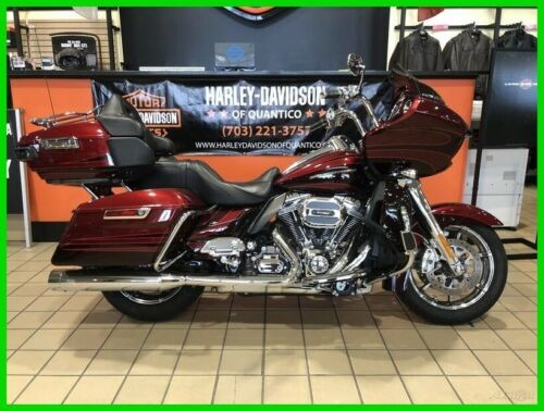2015 Harley-Davidson Touring FLTRUSE - CVO™ Road Glide® Ultra Burgundy Blaze/Typhoon Maroon for sale craigslist