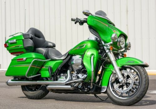 2015 Harley-Davidson Touring Radioactive Green for sale craigslist