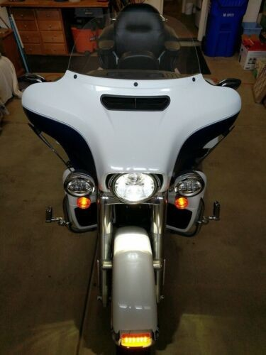 2015 Harley-Davidson Touring White/Sky Blue for sale craigslist