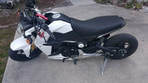 2015 Honda GROM 125 White for sale craigslist