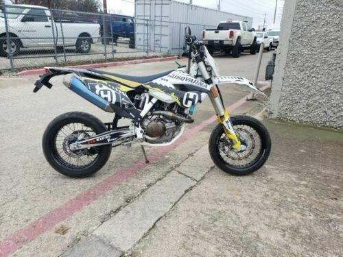 2015 Husqvarna FE 501 *** SUPER MOTO *** White for sale