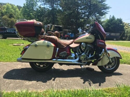 2015 Indian ROADMASTER Indian Red/Ivory Cream for sale craigslist