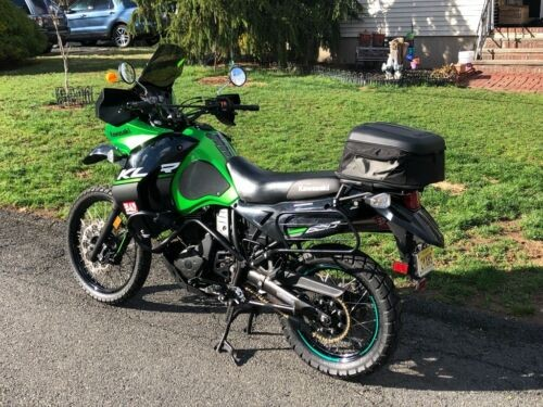 2015 Kawasaki KLR Green for sale