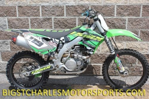 2015 Kawasaki KX 450F Green for sale craigslist