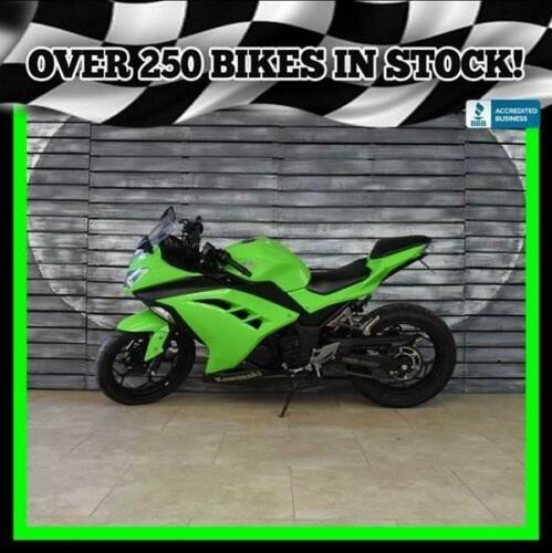 2015 Kawasaki Ninja (ABS) Green for sale