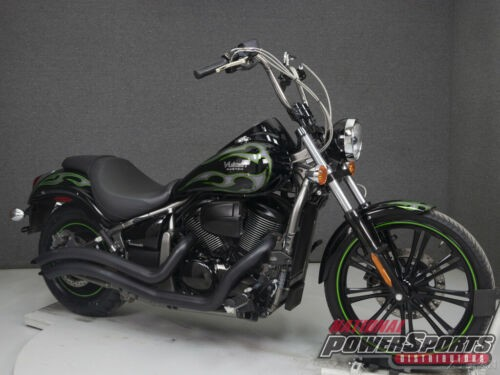 2015 Kawasaki Vulcan VN900 CUSTOM EBONY BLACK W/FLAMES for sale craigslist