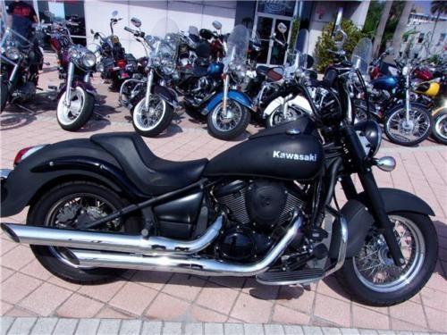 2015 Kawasaki Vulcan -- MATTE BLK for sale