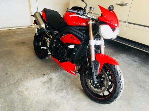 2015 Triumph Speed Triple Red for sale craigslist
