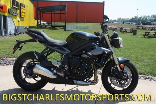 2015 Triumph Street Triple R ABS Black for sale craigslist