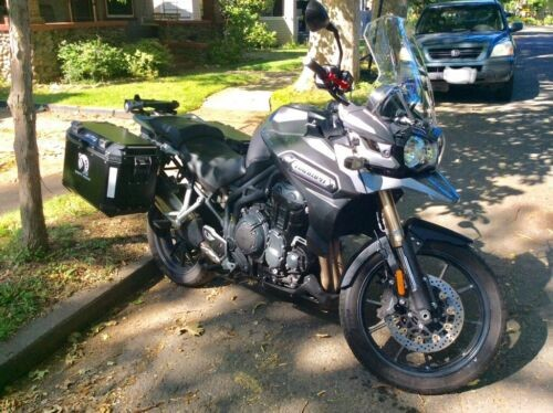 2015 Triumph Tiger Gray for sale craigslist