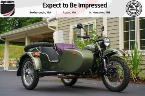 2015 Ural Patrol 2WD Green Metallic Custom Green for sale craigslist