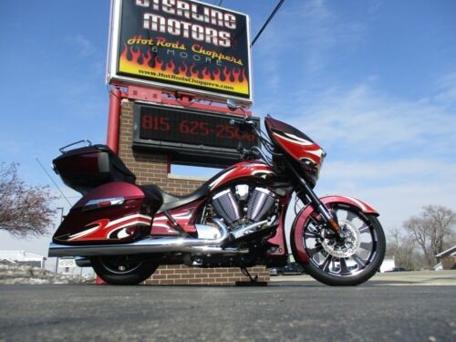 2015 Victory MAGNUM NESS MIDNIGHT CHERRY for sale