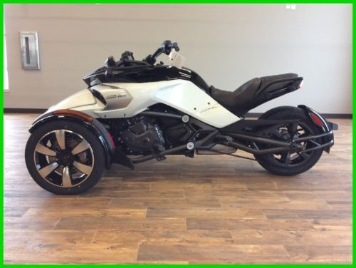 2016 Can-Am SPYDER F3-S SE6 White for sale