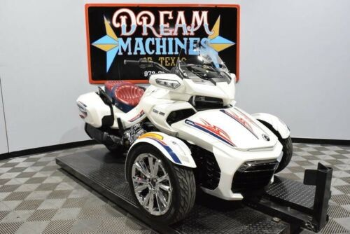 2016 Can-Am Spyder F3 Limited SE6 -- White for sale craigslist