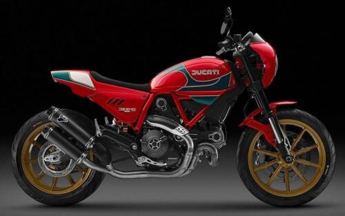 2016 Ducati Scrambler RARE LIMITED EDITION Mike Hailwood Livery Body/Frame Dynamic Red for sale