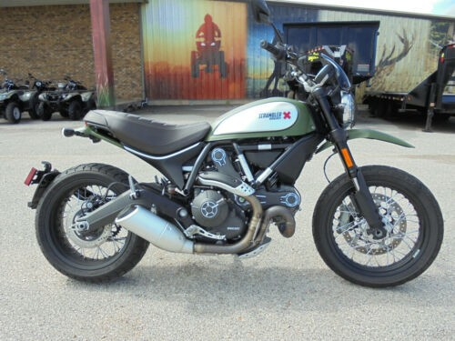 2016 Ducati Scrambler 800 URBAN ENDURO Green for sale craigslist