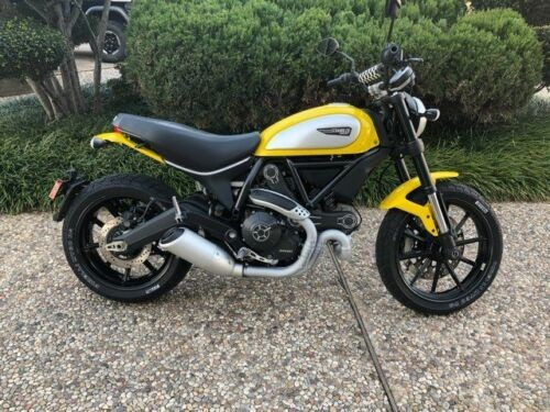 2016 Ducati Scrambler Icon Yellow for sale