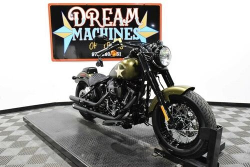 2016 Harley-Davidson FLSS - Softail Slim S -- Gold for sale craigslist