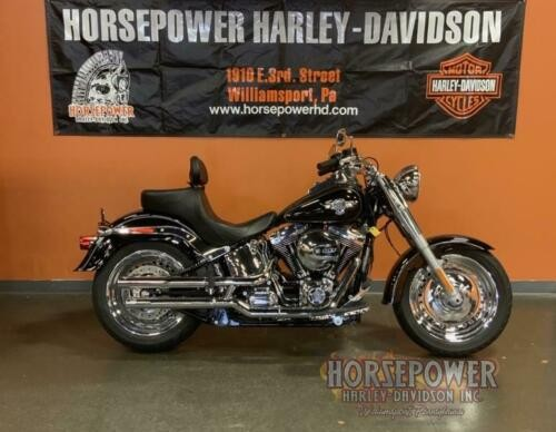 2016 Harley-Davidson FLSTF - Softail® Fat Boy® -- Black for sale craigslist