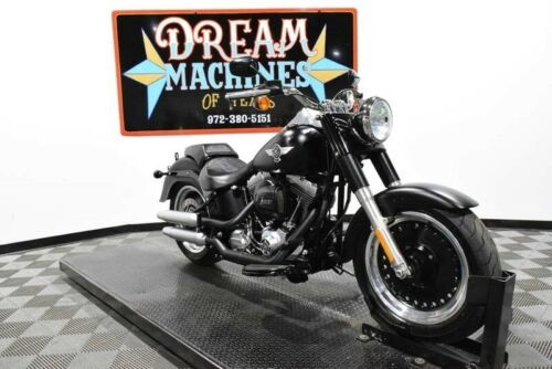 2016 Harley-Davidson FLSTFB - Softail Fat Boy Lo -- Black craigslist