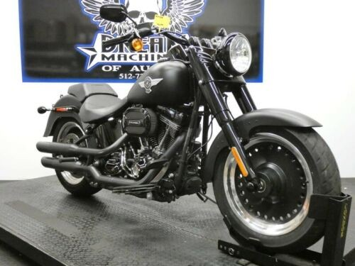 2016 Harley-Davidson FLSTFBS - Fat Boy S -- Black for sale