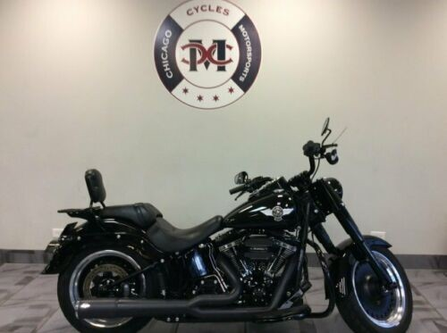 2016 Harley-Davidson FLSTFBS FAT BOY LOW S -- Black craigslist