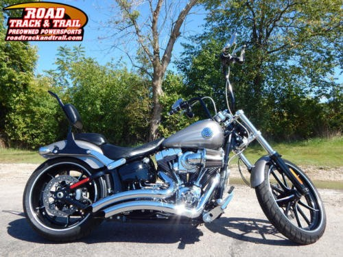2016 Harley-Davidson FXSB - Softail® Breakout® -- Silver for sale craigslist