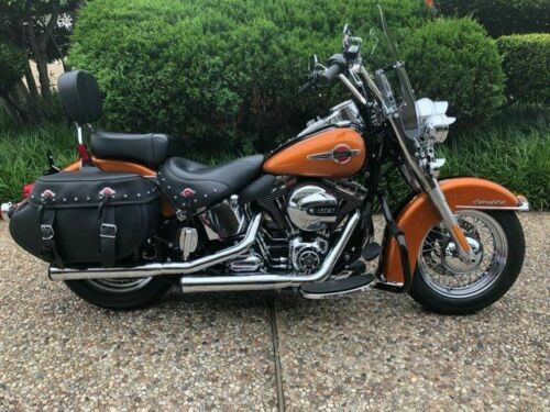 2016 Harley-Davidson Heritage Softail Classic -- Orange for sale craigslist