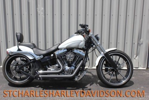 2016 Harley-Davidson Softail FXSB  Breakout® Crushed Ice Pearl for sale craigslist