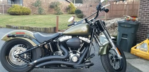 2016 Harley-Davidson Softail FLS  Slim® Green for sale craigslist