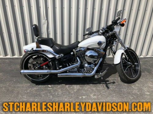 2016 Harley-Davidson Softail FXSB  Breakout® White for sale craigslist
