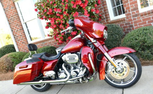 2016 Harley-Davidson Touring Atomic Red/Candy Apple Flames for sale craigslist