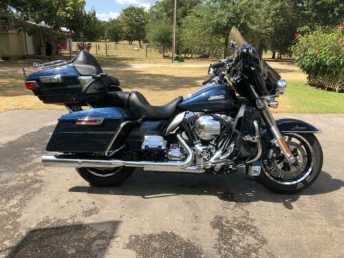 2016 Harley-Davidson Touring Blue for sale craigslist
