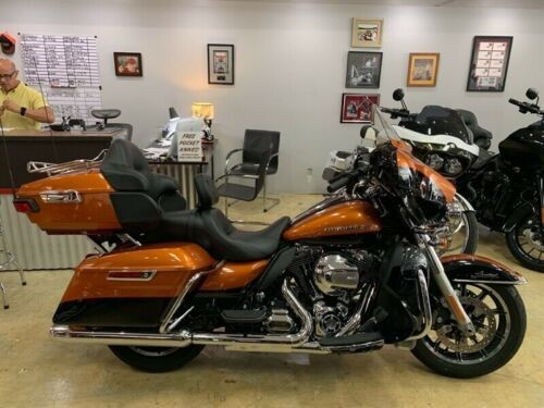 2016 Harley-Davidson Touring FLHTK ULTRA LIMITED Orange for sale craigslist