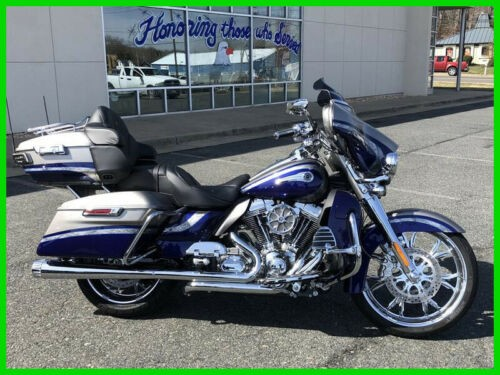 2016 Harley-Davidson Touring FLHTKSE - CVO Limited PALLADIUM SILVER / PHANTOM BLUE for sale craigslist