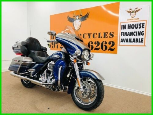2016 Harley-Davidson Touring Electra Glide® CVO™ Limited Palladium Silver/Phantom Blue, for sale craigslist