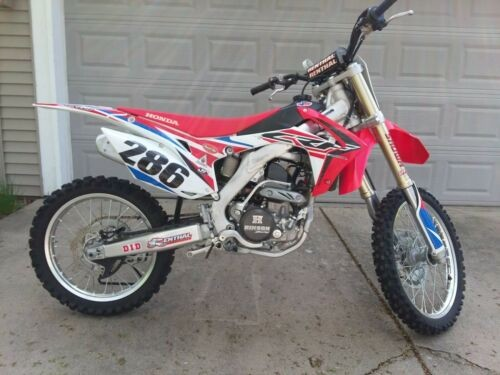 2016 Honda CRF Red craigslist