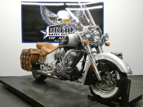 2016 Indian Chief Vintage Star Silver and Thunder Black -- Silver for sale