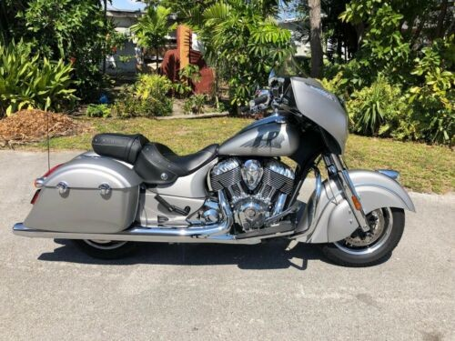 2016 Indian Chieftain Silver Smoke Silver Smoke Silver for sale craigslist