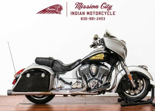 2016 Indian Chieftain® Star Silver and Thunder Black -- Black craigslist