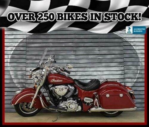 2016 Indian Springfield -- Red craigslist