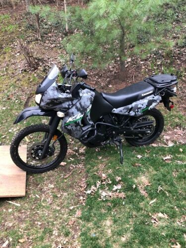 2016 Kawasaki KLR Black for sale craigslist