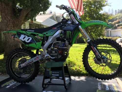 2016 Kawasaki KXF Green for sale