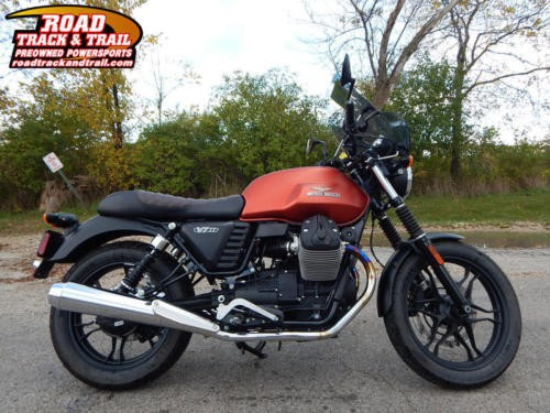 2016 Moto Guzzi V7 II Stone -- Orange for sale